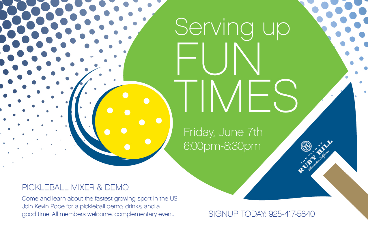 Pickleball Mixer and Demo | The Club at Ruby Hill | 2019-06-14